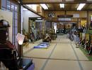 安藤人形店の五月人形展示