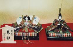 中国・温家宝首相へ献上された雛人形