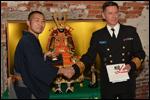 関西日本・フィンランド協会創立35周年記念行事にて五月人形展示