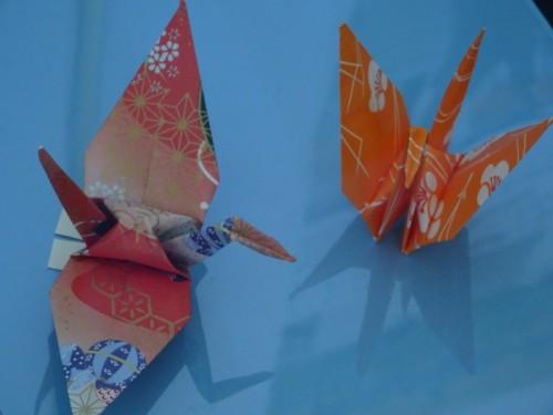 鶴と、雛と。