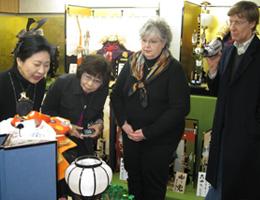 2009年人形作り見学・体験