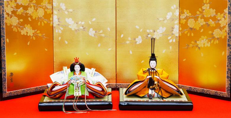 黄櫨染親王 令和雛人形