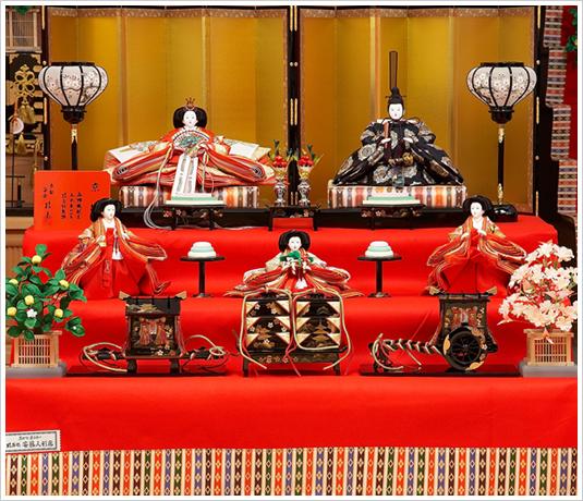 京製三段飾り