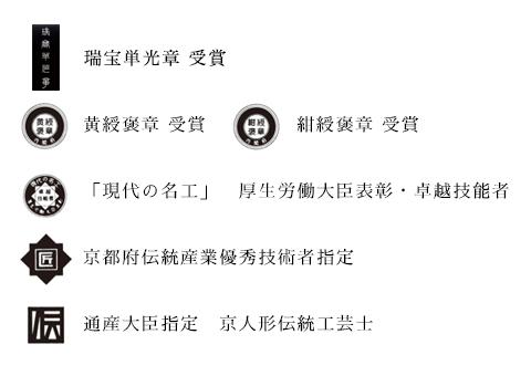 黄綬褒章 紺綬褒章 現代の名工 伝統工芸士