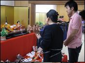 安藤人形店 タイ全国公共放送局「わびさび」取材3