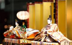 京都ブライトンホテル「雛人形 展示のご案内」