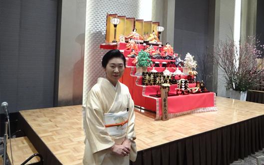 東日本大震災復興記念イベント「お雛さま」の会