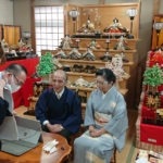 東京の小学校へのZoom授業
