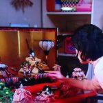 令和2年公開の東宝映画『罪の声』に雛人形をご提供